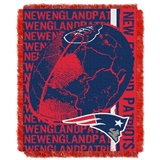 "New England Patriots NFL ""Double Play"" Woven Jaquard Throw"