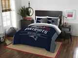 "New England Patriots NFL ""Draft"" Full/Queen Comforter Set"