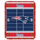"New England Patriots NFL ""Field"" Baby Woven Jacquard Throw"