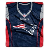 "New England Patriots NFL ""Jersey"" Raschel Throw"