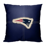 New England Patriots NFL Letterman Pillow