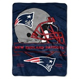 "New England Patriots NFL ""Prestige"" Raschel Throw"