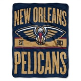 "New Orleans Pelicans NBA ""Clear Out"" Micro Raschel Throw"
