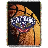 "New Orleans Pelicans NBA ""Photo Real"" Woven Tapestry Throw"