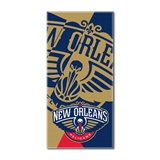 "New Orleans Pelicans NBA ""Puzzle"" Oversized Beach Towel"