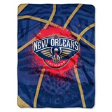 "New Orleans Pelicans NBA ""Shadow Play"" Raschel Throw"