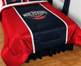 New Orleans Pelicans Sidelines Comforter King