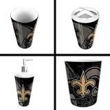 New Orleans Saints  NFL 4 piece Bath Set