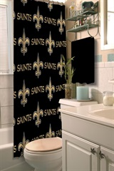 New Orleans Saints NFL Shower Curtain