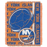 "New York Islanders NHL ""Double Play"" Woven Jacquard Throw"