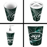New York Jets  NFL 4 piece Bath Set