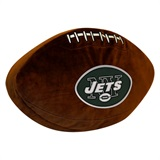 New York Jets NFL  Football Shaped 3D Plush Pillow