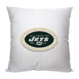 New York Jets NFL Letterman Pillow