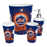 New York Mets MLB 4 piece Bath Set