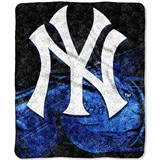 "New York Yankees  MLB ""Big Stick"" Sherpa Throw"
