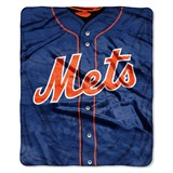 "New York Mets MLB ""Jersey"" Raschel Throw"