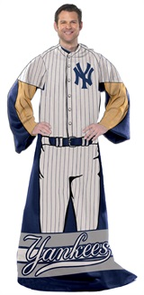 "New York Yankees MLB ""Uniform"" Adult Comfy Throw"