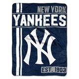"New York Yankees MLB ""Walk Off"" Micro Raschel Throw"
