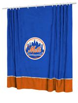 New York Mets MVP Shower Curtain
