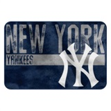 "New York Yankees MLB ""Worn Out"" Foam Bath Mat"