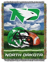 "North Dakota Fighting Sioux NCAA ""Home Field Advantage"" Woven Tapestry"