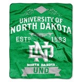 "North Dakota ""Label"" Raschel Throw"