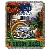 "Notre Dame Fighting Irish NCAA ""Home Field Advantage"" Woven Tapestry T"