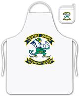 Notre Dame Fighting Irish  Apron Set