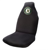 Oakland Athletics MLB Car Seat Cover