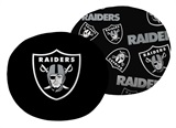 "Oakland Raiders NFL ""Cloud"" 11 inch Pillow"