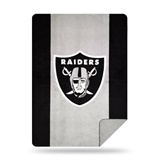 "Oakland Raiders NFL ""Denali"" Sliver Knit Throw"
