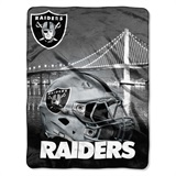 "Oakland Raiders NFL ""Heritage"" Silk Touch Throw"