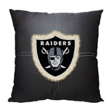 Oakland Raiders NFL Letterman Pillow