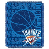 "Oklahoma City Thunder NBA ""Double Play"" Woven Jacquard Throw"