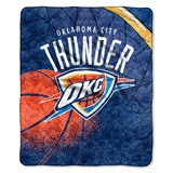 "Oklahoma City Thunder NBA ""Reflect"" Sherpa Throw"