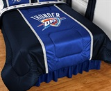 Oklahoma City Thunder Sidelines Comforter Queen