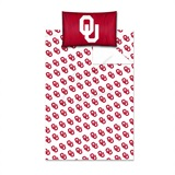 "Oklahoma Sooners ""Anthem"" Twin Sheet Set"