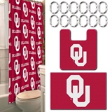 Oklahoma Sooners NCAA 15-Piece Bath Set
