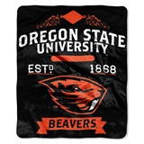 "Oregon State ""Label"" Raschel Throw"