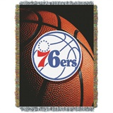 "Philadelphia 76ers NBA ""Photo Real"" Woven Tapestry Throw"