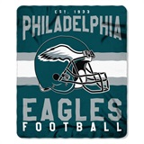 "Philadelphia Eagles NFL ""Singular"" Fleece Throw"