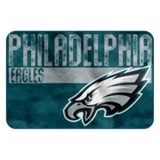 "Philadelphia Eagles  NFL ""Worn Out"" Bath Mat"