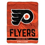 "Philadelphia Flyers NHL ""Break Away"" Micro Raschel Throw"