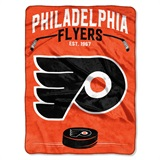 "Philadelphia Flyers NHL ""Inspired"" Raschel Throw"