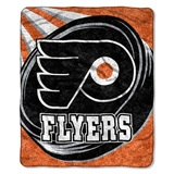 "Philadelphia Flyers NHL ""Puck"" Sherpa Throw"