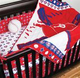 Philadelphia Phillies Micro Fiber Crib Set