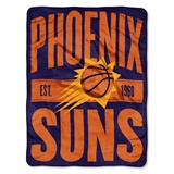 "Phoenix Suns NBA ""Clear Out"" Micro Raschel Throw"