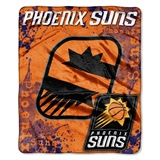 "Phoenix Suns   NBA ""Dropdown"" Raschel Throw"