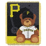 "Pittsburgh Pirates MLB ""Field Bear"" Fleece Throw"