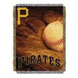"Pittsburgh Pirates MLB ""Vintage"" Woven Tapestry Throw"